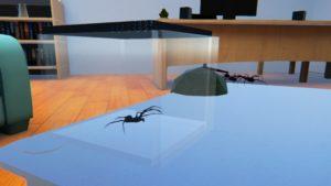 spinnen angst vr